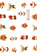 Waterdecal Funny Chihuahua BLE-2298