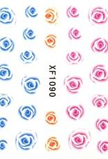 Waterdecal Roos 3 Kleuren