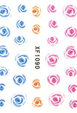 Waterdecal Rose 3 Colors