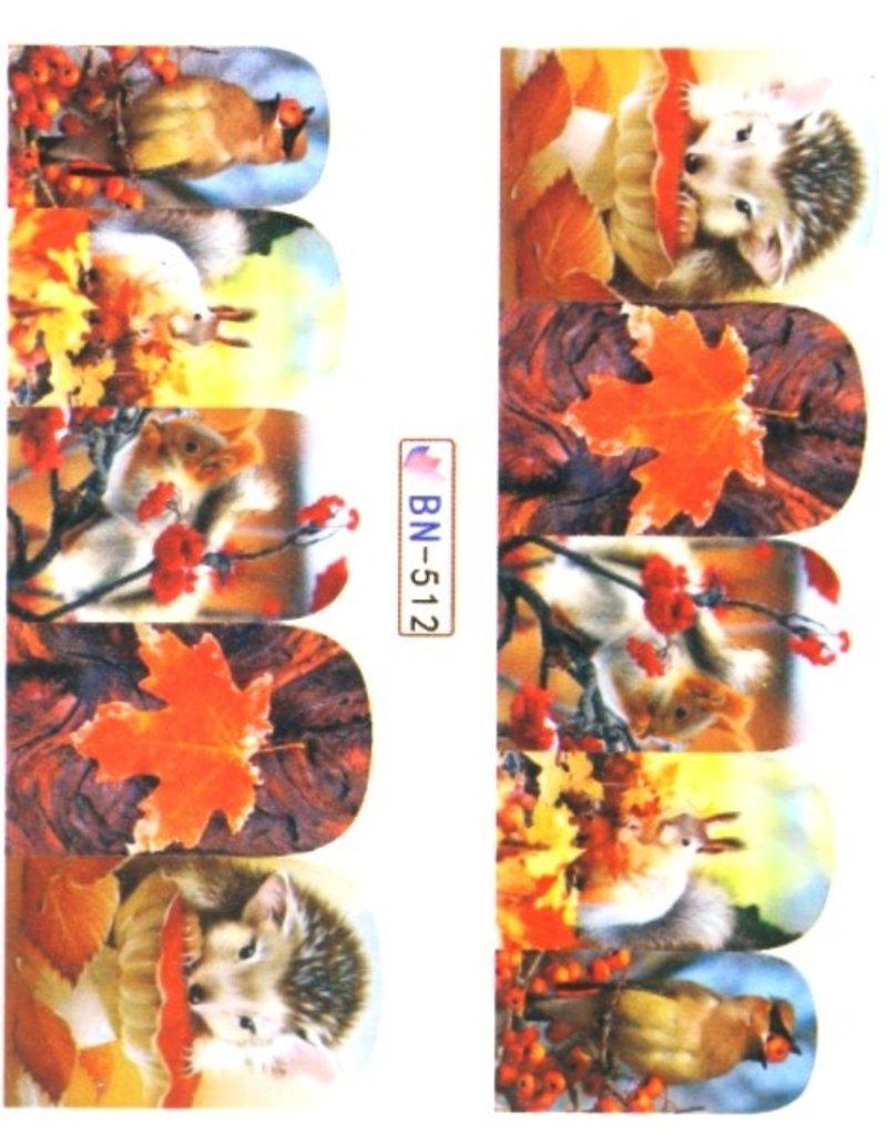 Waterdecal Autumn BN-512