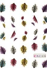Waterdecal Veer Multicolor