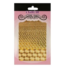 Filigree Chrome Circles Gold
