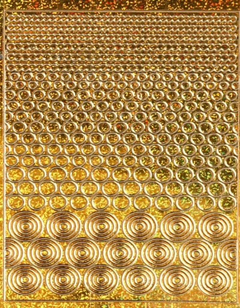 Filigree Chrome Circles Gold