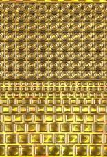 Filigree Chrome Square Dicht Goud