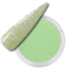 Acrylic Powder Jelly Beans Glitter Kiwi