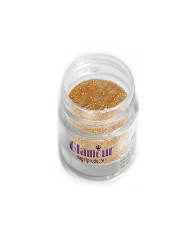 Poudre Acrylique Hollywood Glitter Golden Glow