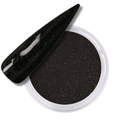 Acrylic Powder Hollywood Glitter Black Diamonds