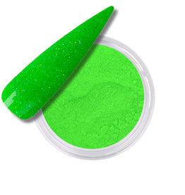 Polvo Acrílico Glitter Neon Green
