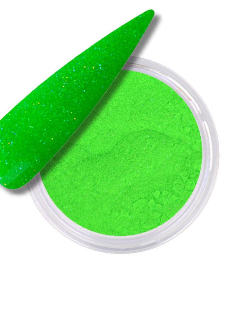 Acrylic Powder Glitter Neon Green
