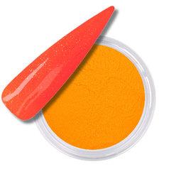 Acrylic Powder Neon Orange Yellow Glitter