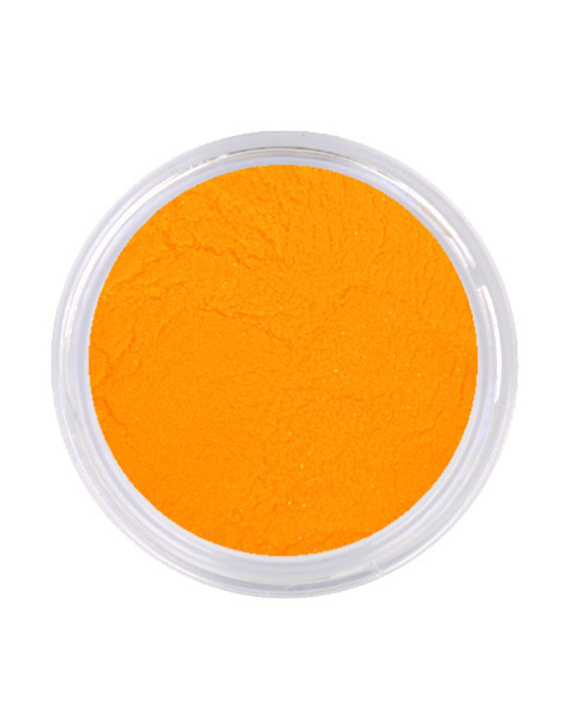 Acrylpoeder Neon Orange Yellow Glitter