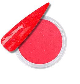 Acrylic Powder Neon Pink Orange Glitter
