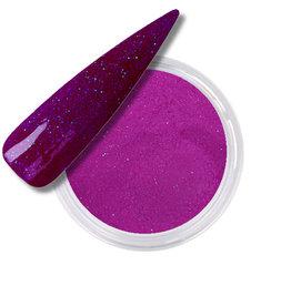 Polvo Acrílico Neon Purple Glitter