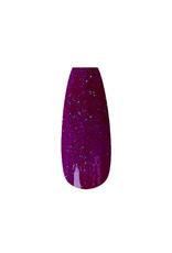 Acrylpoeder Neon Purple Glitter