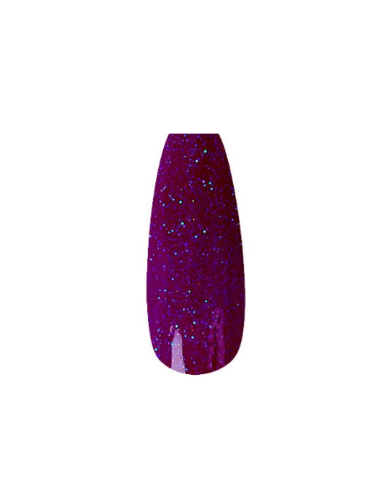 Poudre Acrylique Neon Purple Glitter