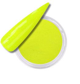 Acrylic Powder Neon Yellow Glitter