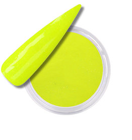 Polvo Acrílico Neon Yellow Glitter