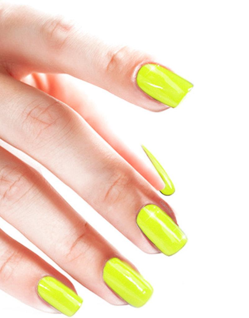 Acrylpoeder Neon Yellow Glitter