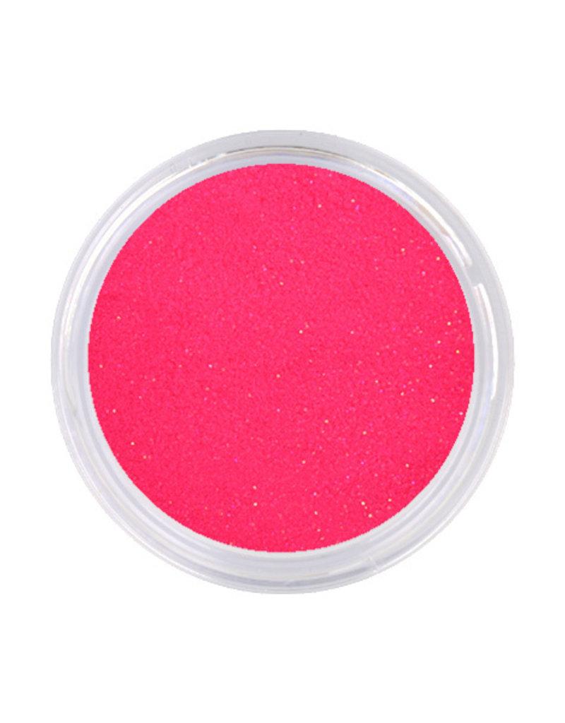 Acrylpoeder Neon Pink Glitter