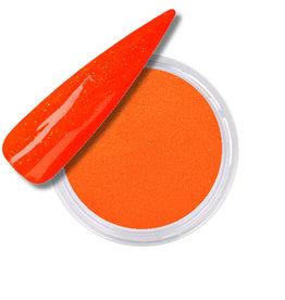 Acrylic Powder Neon Orange Glitter