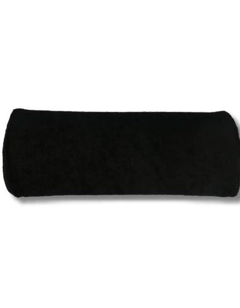 Hand Cushion Terry Cloth Black