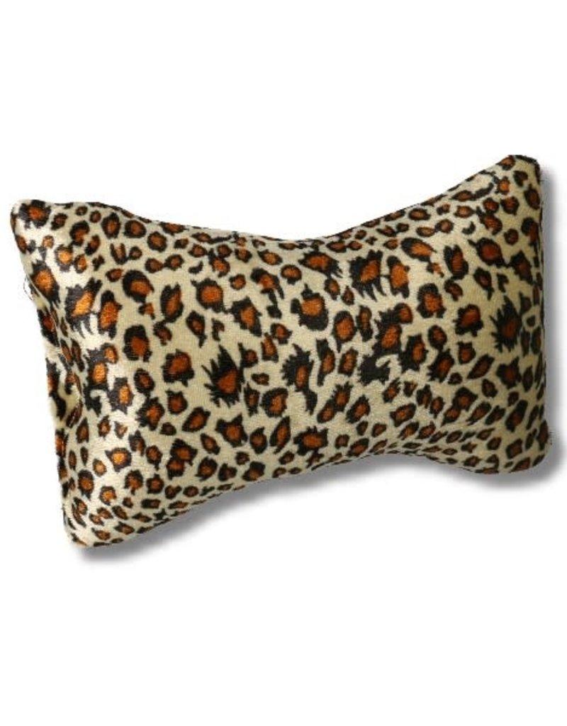 Hand Cushion Small Leopard Brown