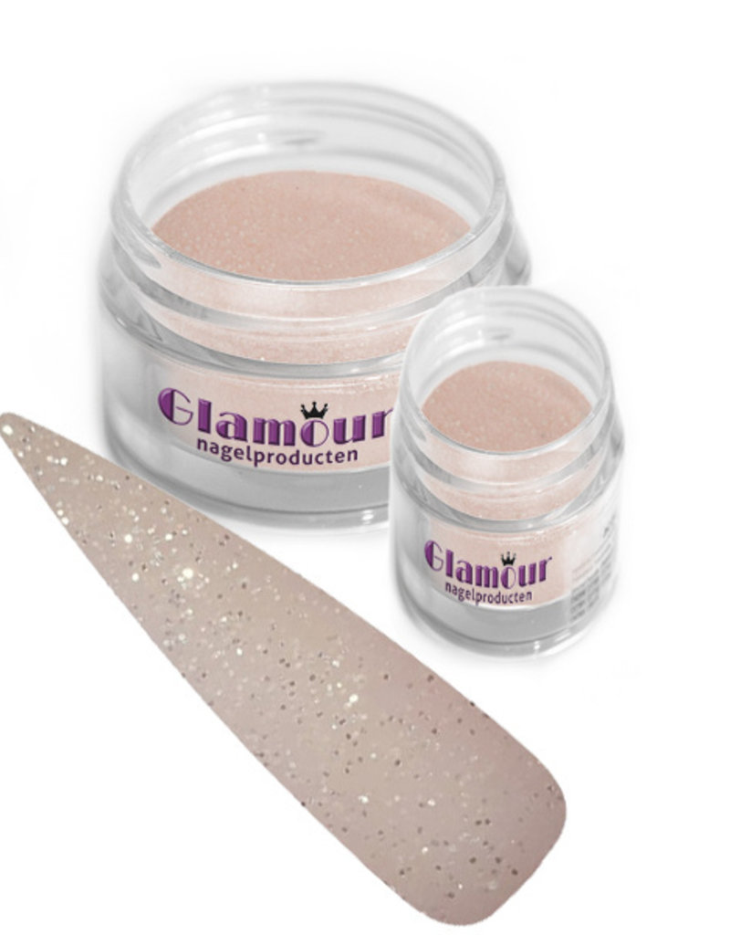 Acrylic Powder Cover Glitter Dreamy Peach
