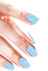 Gel On Pastel Brilliant Blue