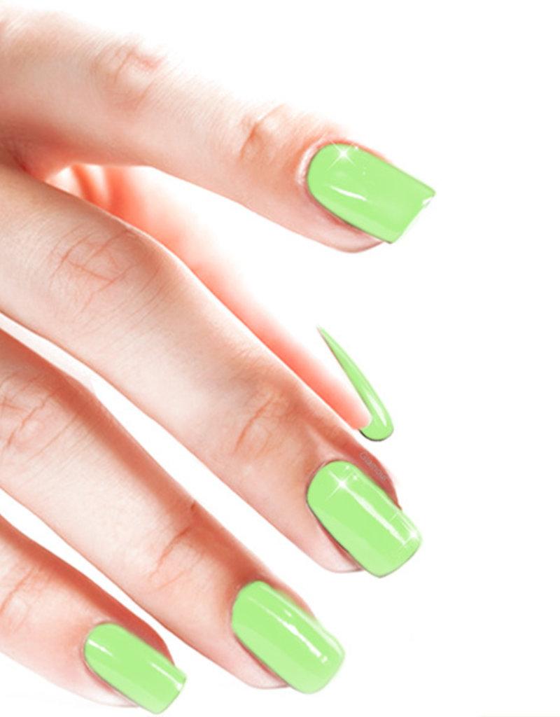 Gel On Pastel Brilliant Green