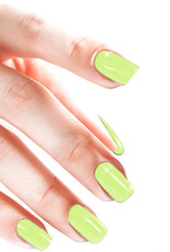 Gel On Pastel Brilliant Chartreuse