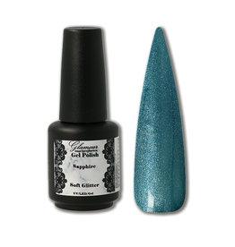 Gel On Soft Glitter Sapphire