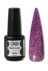 Gel On Glitter Liquid Crystal