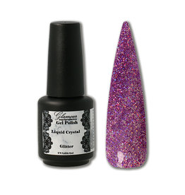 Gel On Glitter Liquid Crystal