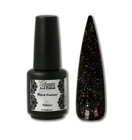Gel On Glitter Black Fantasy