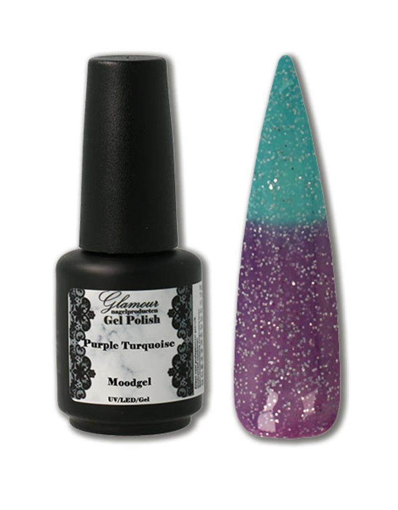 Gel On Moodgel Purple Turquoise