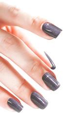 Gel On Aluminium Soft Glitter Purple