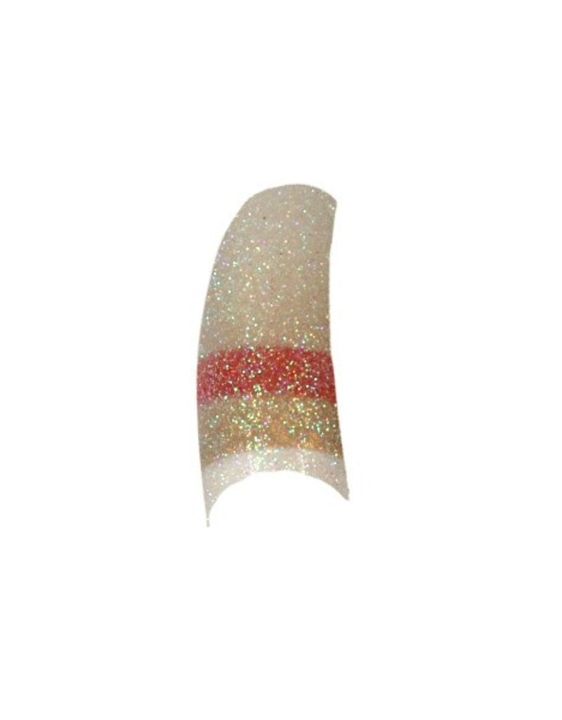 Tips 3-Colors-Glitter White/Red/Gold