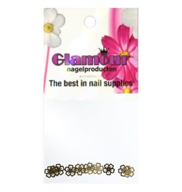 Shapes Inlay Flower Gold 1