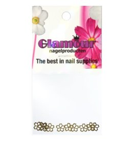 Shapes Inlay Flower Gold 2