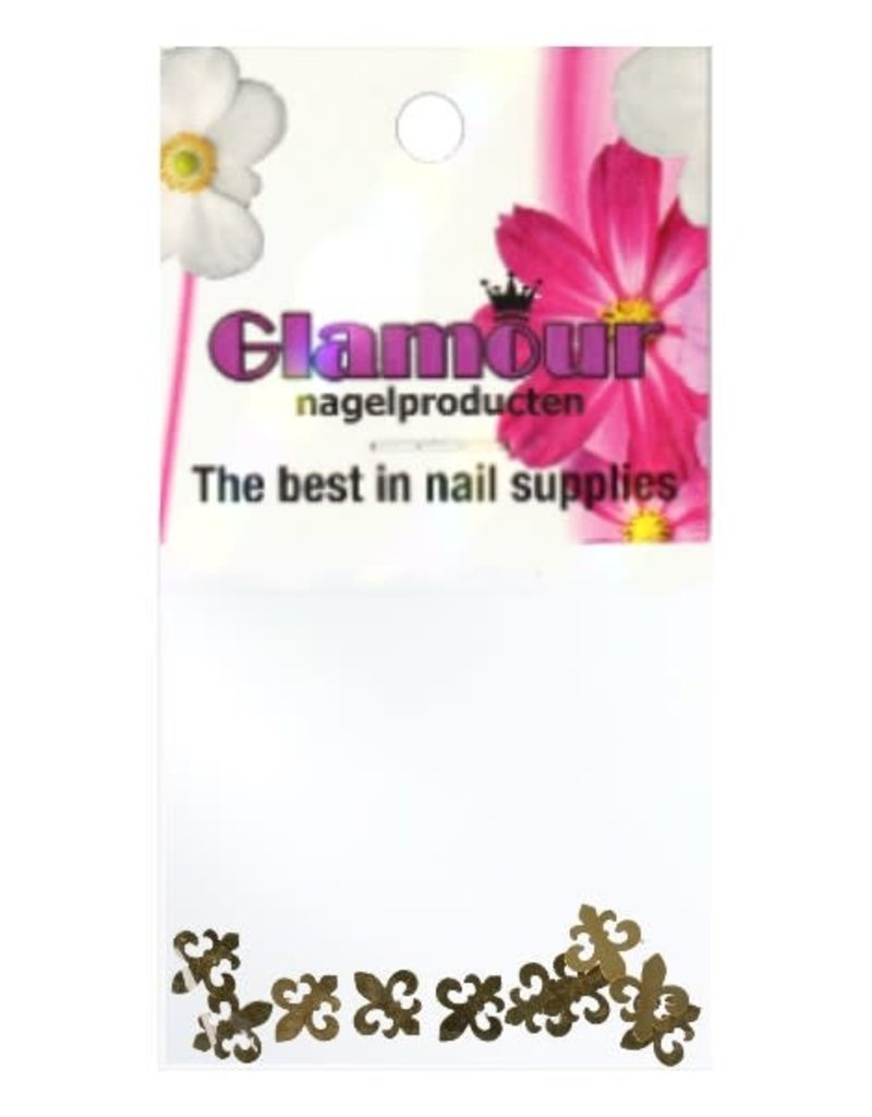 Shapes Inlay Ornament Gold