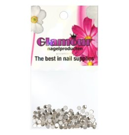 Crystals Silver 2mm