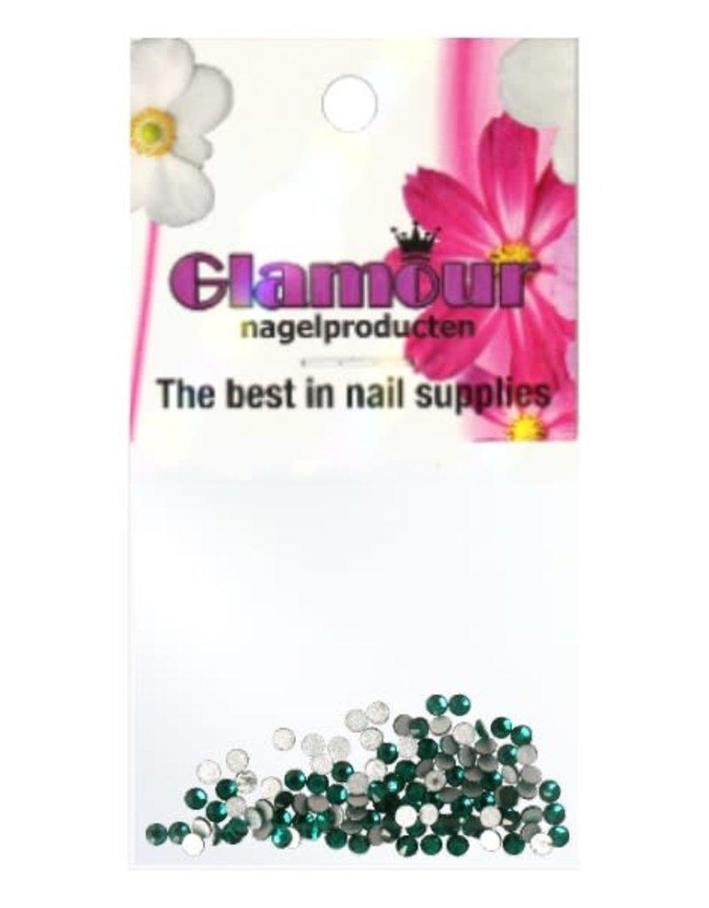 Crystals Emerald 2mm