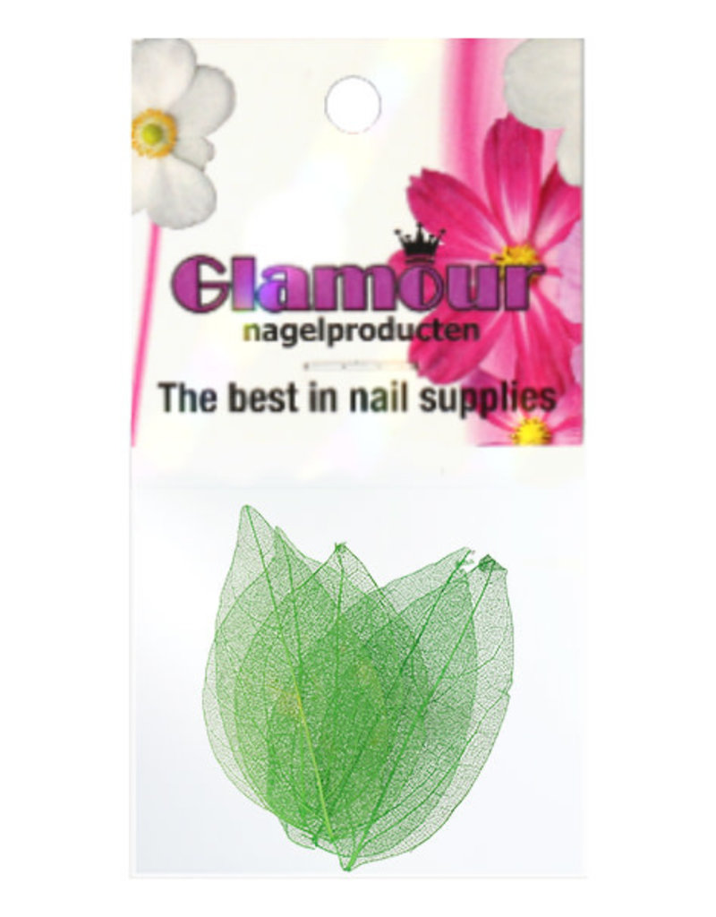 Nailart Leaf Green