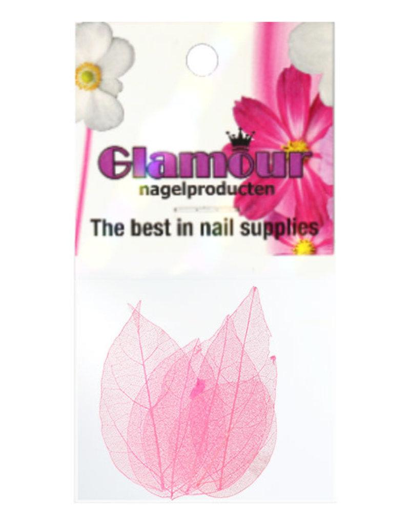 Nailart Leaf Pink 1