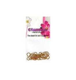 Nailart Chain Goud