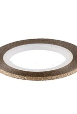 Glitter Striping Tape Bronze
