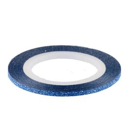 Glitter Striping Tape Deep Blue