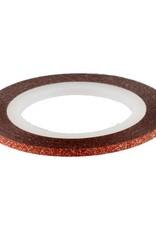 Glitter Striping Tape Orange