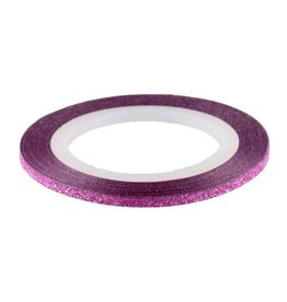 Glitter Striping Tape Pink