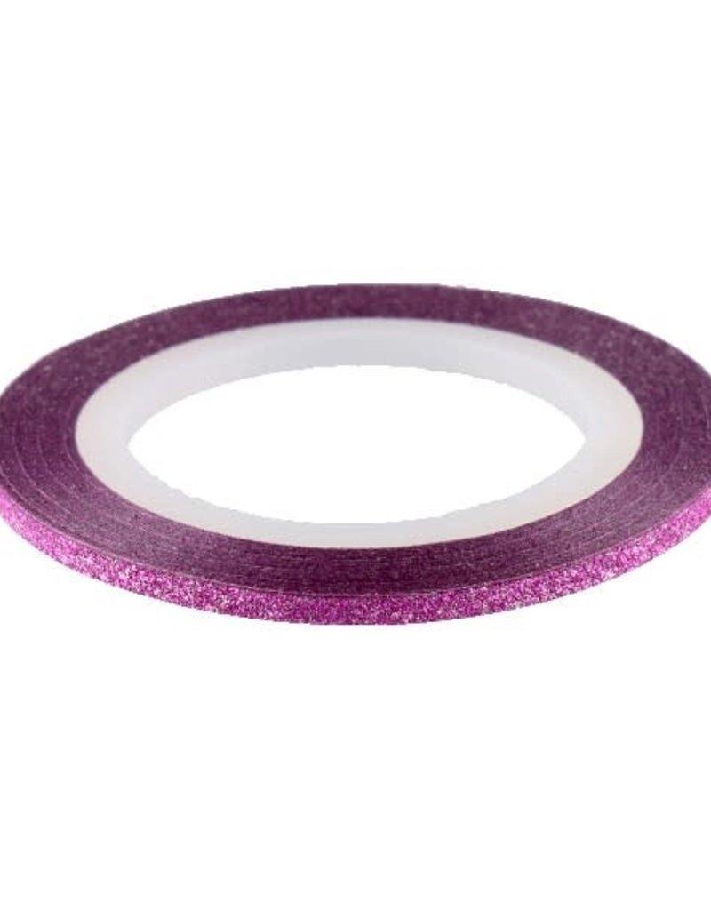 Glitter Striping Tape Pink